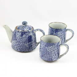 Quilt TEA MUG Tea for Two Set