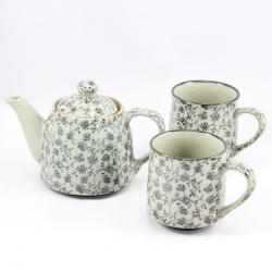 Antique Kusa TEA MUG Tea for 2 - Click for more info