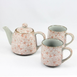 Kusa RED TEA MUG Tea for Two