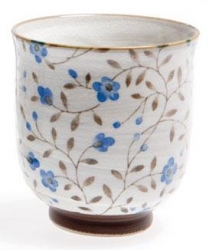 Sachiko Blue Straight Cup - Click for more info