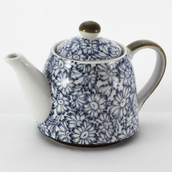Sunflower Blue Teapot - Click for more info
