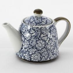 Sunflower Blue Teapot
