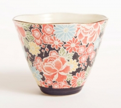 Shiki Yuzen Cone Cup - Click for more info