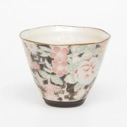Hana Yuzen Black Cone Cup
