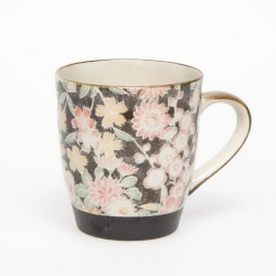 Hana Yuzen Black Tea Mug - Click for more info
