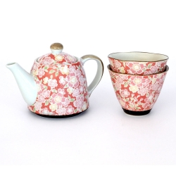 Sakura Yuzen Red CONE Cup T42 - Click for more info