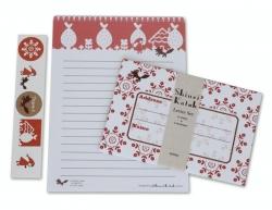 Red Hood Letter Set