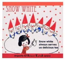Snow White Memo Pad