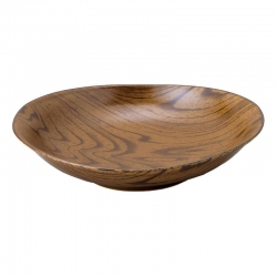 Wood Look Light 21cm Bowl (4) - Click for more info