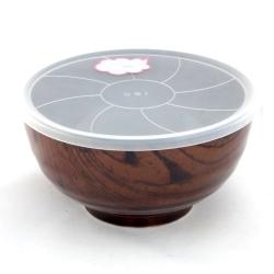 Wood Look Dark 16cm LID Bowl