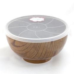 Wood Look Light 16cm LID Bowl