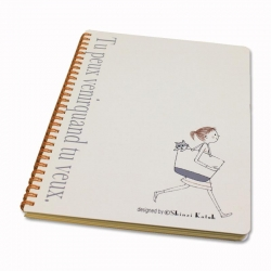 Go for a Walk B5 Notebook