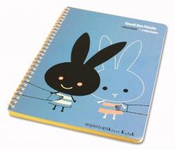 Jiji & Peren B5 Notebook by Sh