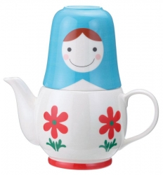 Matryoshka Flower Tea for Two - Click for more info