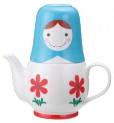 Matryoshka Flower Tea for Two