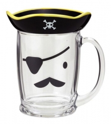 Pirate Glass Mug - Click for more info