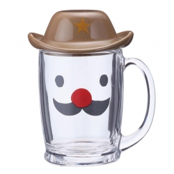 Sheriff Glass Mug - Click for more info