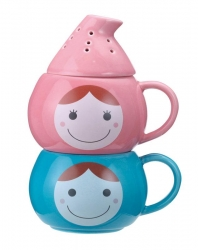 Cute Couple Herbal Tea Mugs - Click for more info