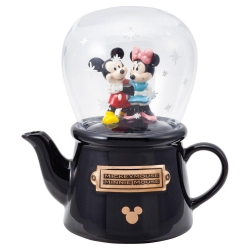 Mickey & Minnie Snowdome Tea - Click for more info