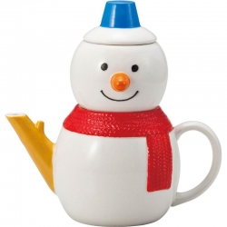 Snowman Tea for One Set