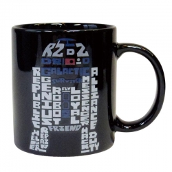 R2D2 Typography Mug - Click for more info