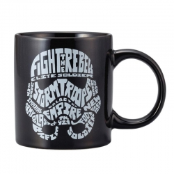 Stormtrooper Typography Mug - Click for more info