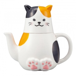 Calico Cat Tea for One Set