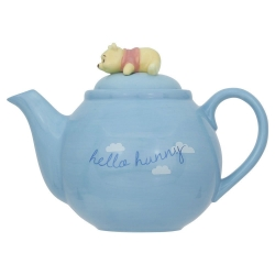 Pooh Blue Teapot