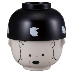 Double Sml Bowl Set Polar Bear