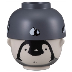 Double Sml Bowl Set Penguin