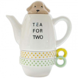 Dachshund Tea for Two Set