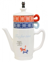 Cat Lid Tea for Two Set - Click for more info