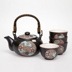 Beni Blue Tea Set *4 Cups - Click for more info