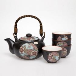 Beni Blue Tea Set *4 Cups