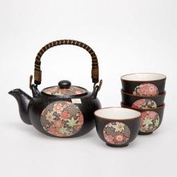 Kanoko Tea Set *4 Cups - Click for more info