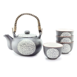 Blue Clouds Tea Set *4 Cups - Click for more info