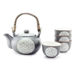 Blue Clouds Tea Set *4 Cups