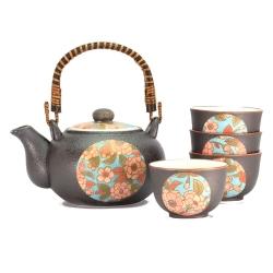 Yae Sakura Tea Set *4 Cups - Click for more info