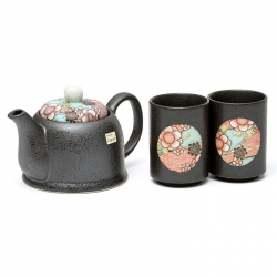 Beni Blue 2 Cup Tea Set