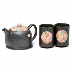 Kyo Miyabi 2 Cup Tea Set - Click for more info