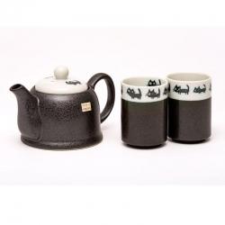 Tiny Cats 2 Cup Tea Set