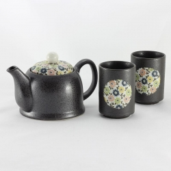Blue Komon 2 Cup Tea Set - Click for more info