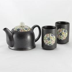 Blue Komon 2 Cup Tea Set