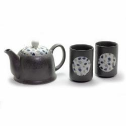 Blue Petal 2 Cup Tea Set