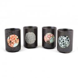 Kiritachi Tea Cup Set *4 Cups - Click for more info