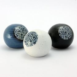 Blue Sakura Sphere Vase - Click for more info
