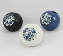Sakura Sphere Vase Black - Click for more info