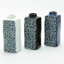 Blue Sakura Rectangular Vase - Click for more info