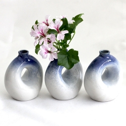 Blue Doughnut Vase - Click for more info