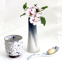Blue Ten Vase